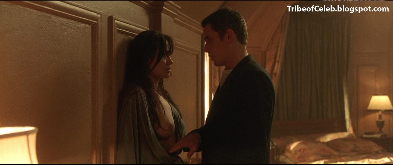 Here against Angelina jolie sex scene taking lives that