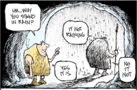Non sequitur by Wiley