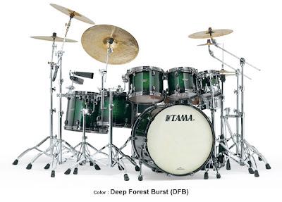 Tama Drum Set - Tama Starclassic Bubinga