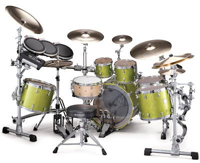 Yamaha Drum Set - Absolute Maple Hook Lug