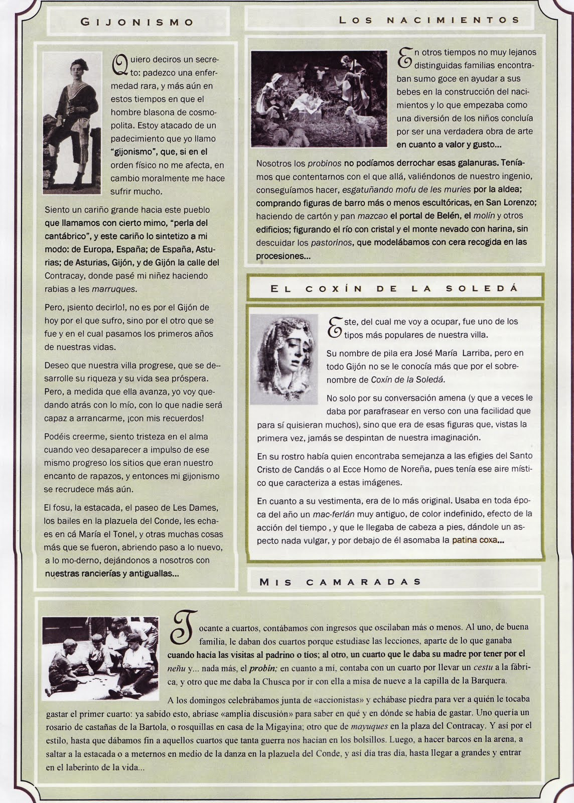 Cimadevilla en el relato de Pachín de Melás y más cosas del Club de ...