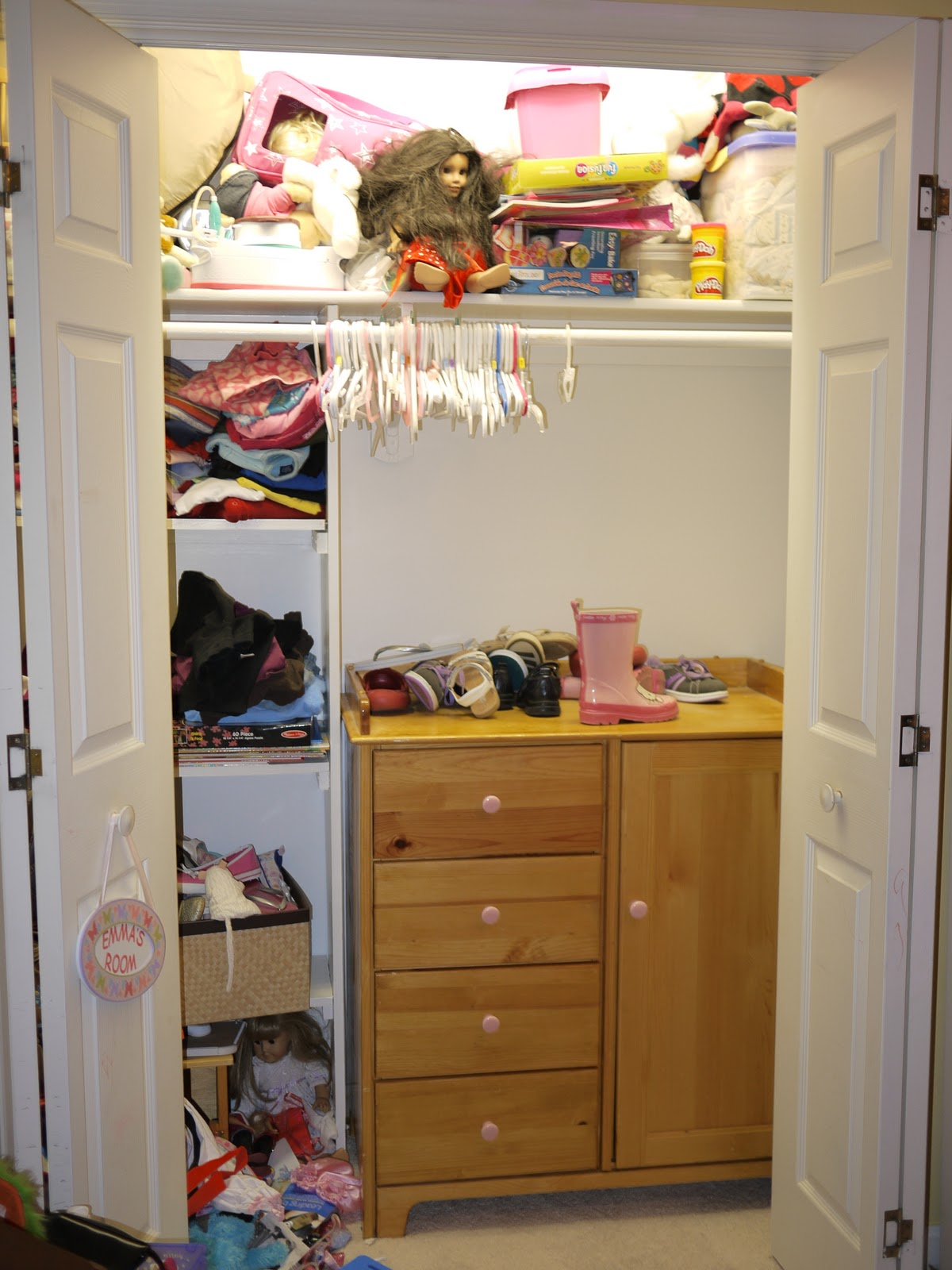 Wonderful I Moved In Her Dresser/ Changing Table From When She Was A Baby. It