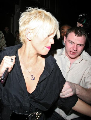 Short hairstyle from Sarah Harding. Short hairstyle from Sarah Harding