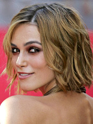 keira knightley hair color. keira knightley haircut bob