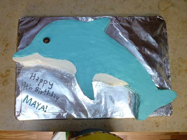 What s for dinner: Dolphin cake