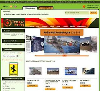 Tienda online de maquetas Tempus Hobby