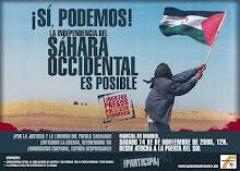 manifestació pel sàhara occidental
