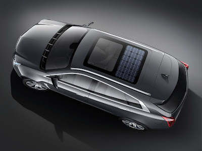 CadillacPRV 14 Cadillac Provoq Compact Fuel Cell SUV Concept Photos