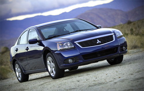 Galant09 0 Chicago Preview: 2009 Mitsubishi Galant Facelift