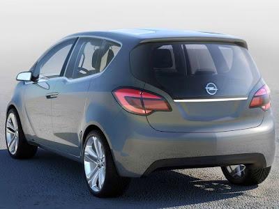 MerivOp 1 Opel Meriva Concept Official Images