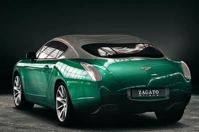 BBGTZ 5 Bentley Continental Zagato GTZ Photos