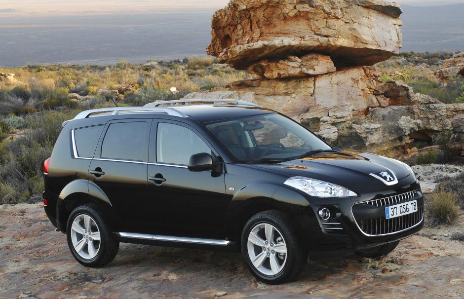 "Carscoop Peugeot 4007 105 Geneva Preview: Peugeot 4007 SUV & 4007 ""Holland&Holland"" Concept"
