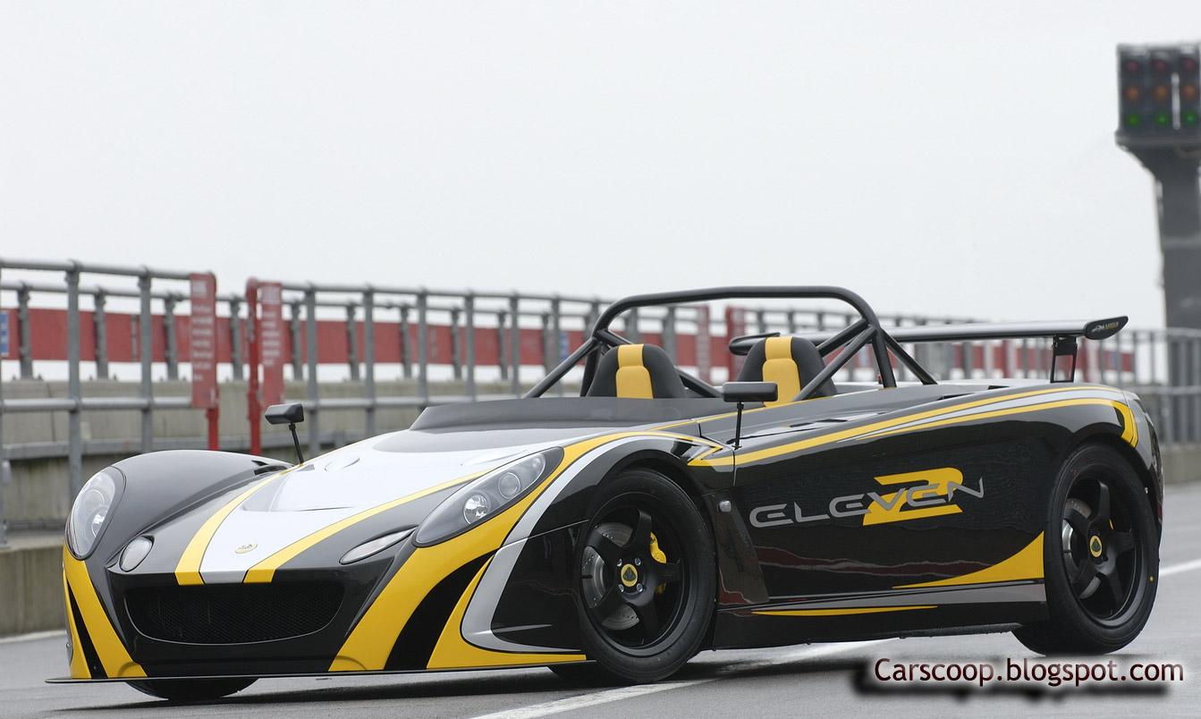 Carscoop Lotus 2 Eleven 8 Lotus 2 Eleven: 255Hp & 670kg Elise track version to debut at Geneva