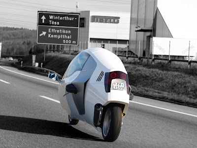 "Carscoop monotracer 18 Peraves Monotracer – Production Version ""Cabin –bike"" powered by BMW engine premiers in Geneva"