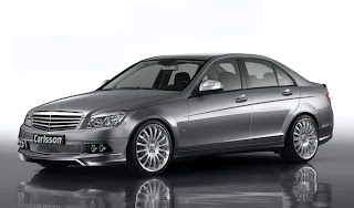 Carscoop carlssonCK35 2 Carlsson CK35 295Hp version based on the 2008 Mercedes C Class