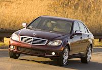 Carscoop MBC CLass08 01 New York Preview 2008 Mercedes C Class US Spec
