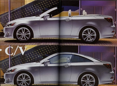 CSP LEXUSISCC Lexus IS Coupe Cabrio: The Missing Link?