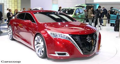 Frankfurt Review: Suzuki Kizashi Concept
