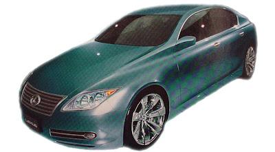 csss Lexus BS Compact Hatchback – Rendering