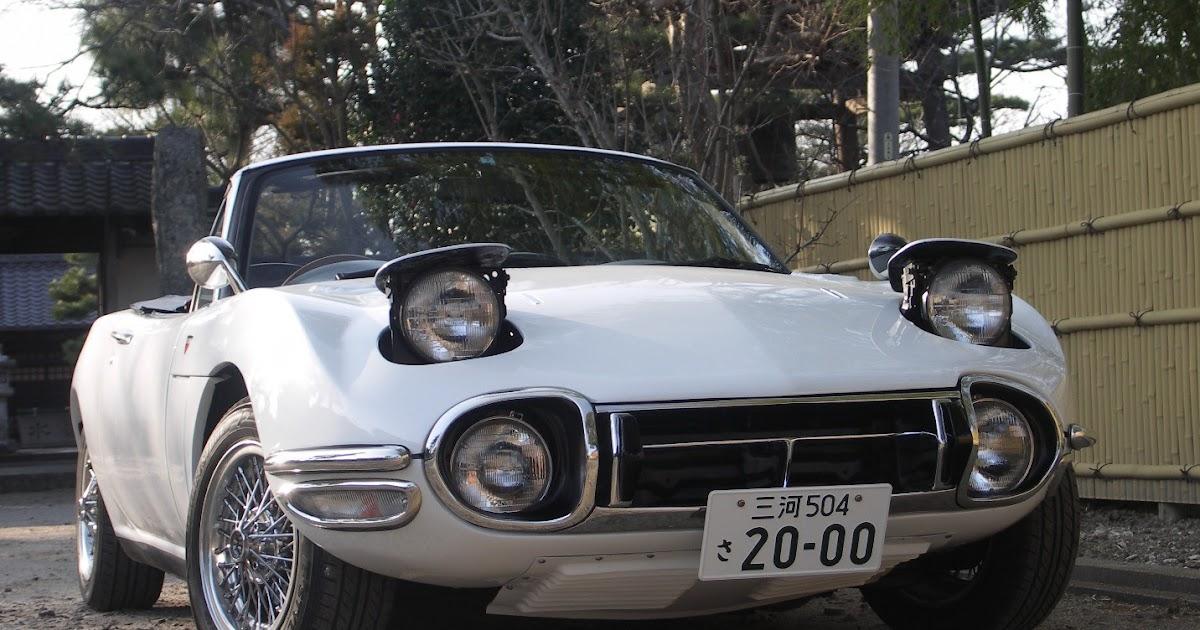 Hiroshi Toyota 2000gt Replica Based On Mazda Miata
