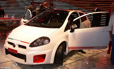 """Carscoop Fiat Grande Punto ABARTH 0 2008 Grande Punto Abarth """"esseesse"""": Official Details"""
