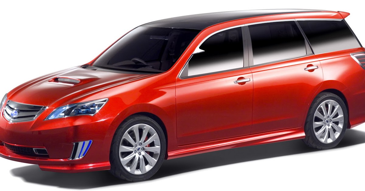 Subaru Exiga 7 Seater Concept 2007 Tokyo Show