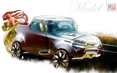 2008 ford model t concept by designer david beasley. Black Bedroom Furniture Sets. Home Design Ideas