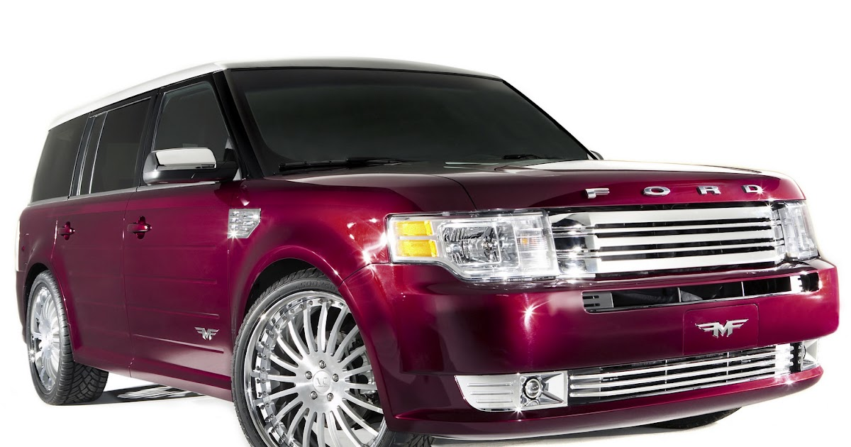 sema 2009 ford flex by funkmaster flex. Black Bedroom Furniture Sets. Home Design Ideas