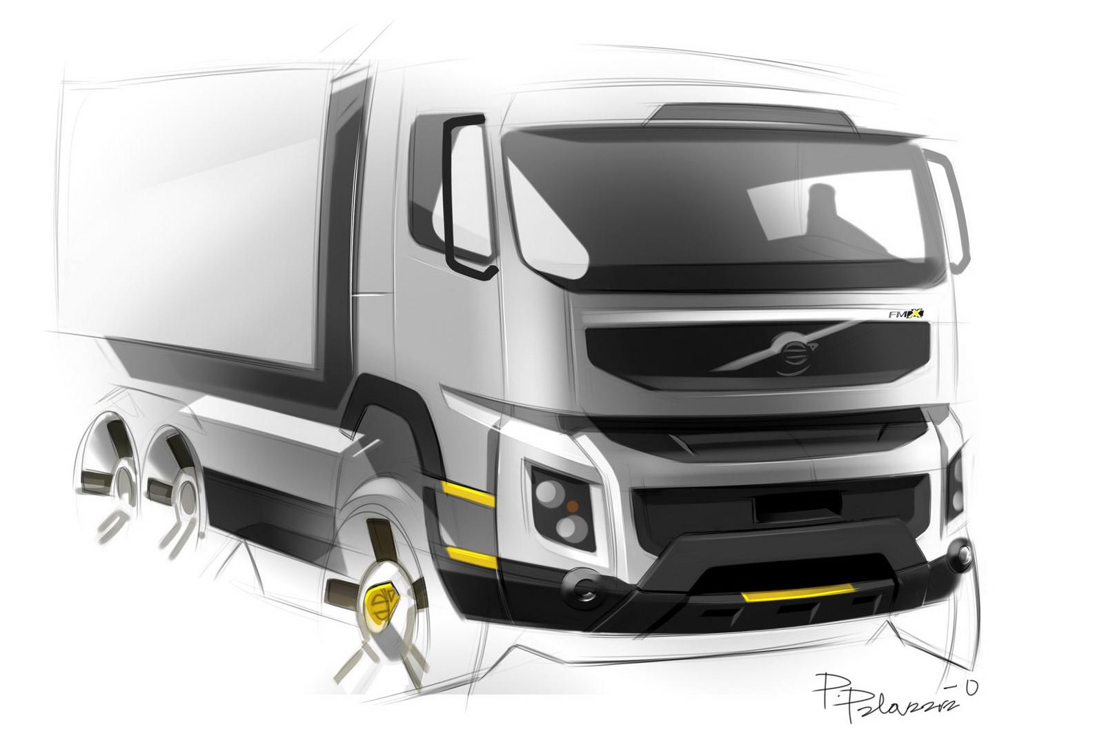 The Car Volvo Trucks New Fmx Design