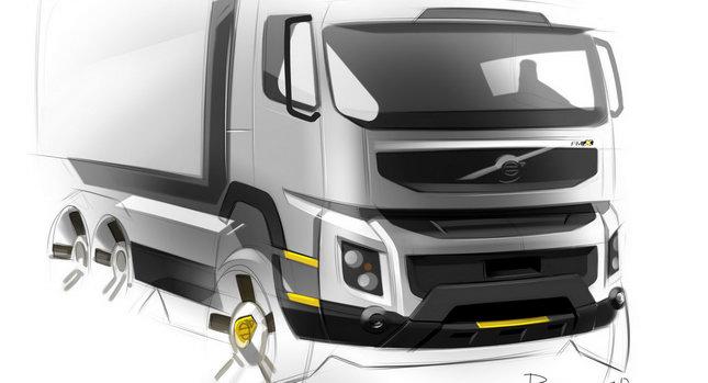 Volvo Truck Design 001 Volvo Trucks New FMX Design photos