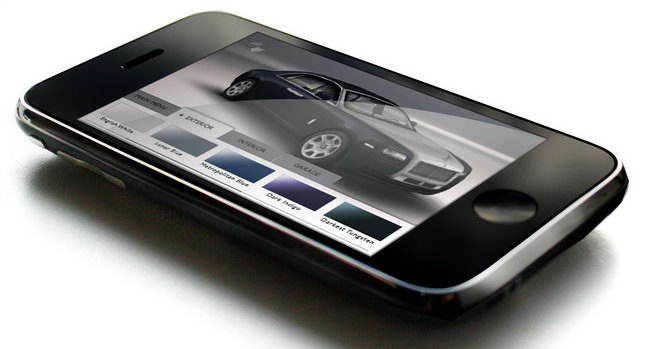 Rolls Royce Ghost App 1 Rolls Royce Releases Ghost App Configurator for iPhone, iPod Touch