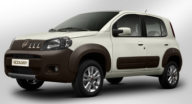Auto Cars 2011 2012 New Fiat Uno Ecology Concept Study First Photos
