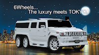 Hummer H2 Ultimate Six 16 Japans 213 Motoring Builds the Ultimate Six Hummer H2