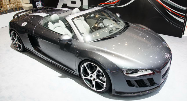 ABT Audi R8 Spyder 001 ABT Presents Audi R8 Spyder 5.2 V10 with 600 Ponies in Geneva