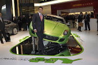 Ferrair 599 GTB Fiorano Hybrid Study 15 Ferrari Goes from Red to Green Plans to Offer Hybrid Option on all Models Photos