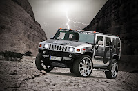 CFC Hummer Crome %281%29 CFC Proves Theres No Limit to Bad Taste with Chromed Out Hummer H2   Photos