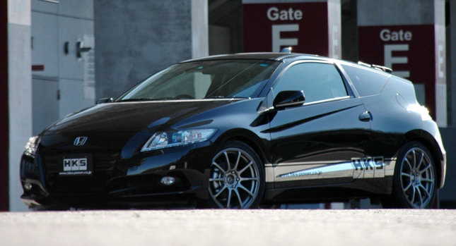 HKS Honda CR Z 0 HKS Takes on Hondas CR Z Coupe photos, pictures