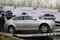 Huatai B21 3 Bentley Snout Part II: Huatais New B11 and B21 Sedan Snapped Ahead of Beijing Show