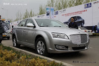 Huatai B21 12 Bentley Snout Part II: Huatais New B11 and B21 Sedan Snapped Ahead of Beijing Show