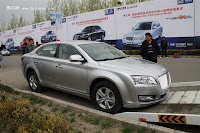 Huatai B21 9 Bentley Snout Part II: Huatais New B11 and B21 Sedan Snapped Ahead of Beijing Show