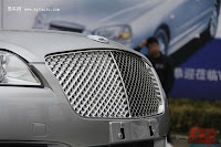 Huatai B21 2 Bentley Snout Part II: Huatais New B11 and B21 Sedan Snapped Ahead of Beijing Show