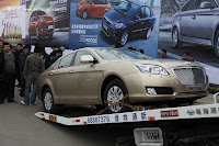 Huatai B11 110 Bentley Snout Part II: Huatais New B11 and B21 Sedan Snapped Ahead of Beijing Show