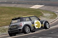 MINI E RACE Ring 4 VIDEO: All Electric MINI E Laps the Nurburgring Circuit in Under 10 Minutes