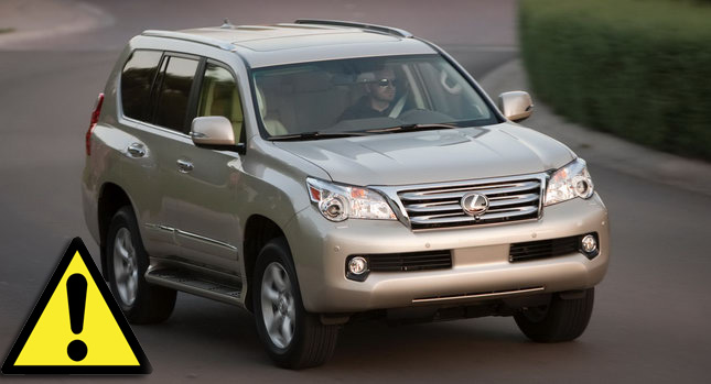 2010 Lexus GX 460 001+copy Consumer Reports Labels 2010 Lexus GX 460 as a Safety Risk