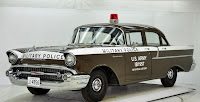 1957 Chevrolet Police Car 3 Copped out: 1957 Chevy Military Police Car for Sale