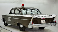 1957 Chevrolet Police Car 4 Copped out: 1957 Chevy Military Police Car for Sale
