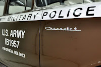 1957 Chevrolet Police Car 24 Copped out: 1957 Chevy Military Police Car for Sale