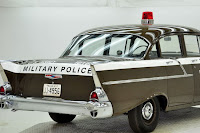 1957 Chevrolet Police Car 29 Copped out: 1957 Chevy Military Police Car for Sale