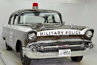 1957 Chevrolet Police Car 35 Copped out: 1957 Chevy Military Police Car for Sale