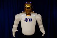 NASA GM Robonaut 01 GM Teams up with NASA to Create Robonaut R2 for International Space Station